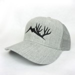 Heathered Gray Bent Brim